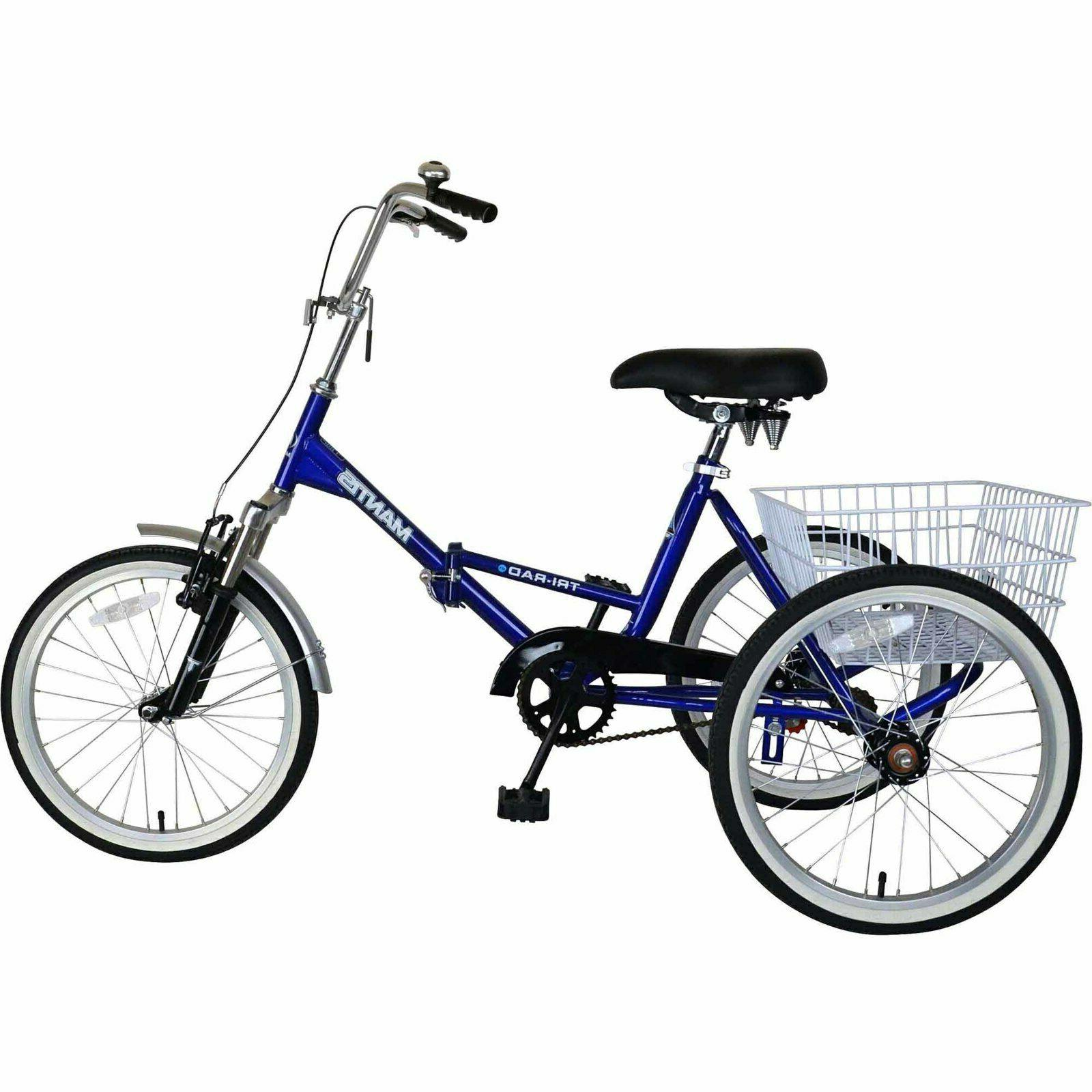 tricycle floding bike mantis tri