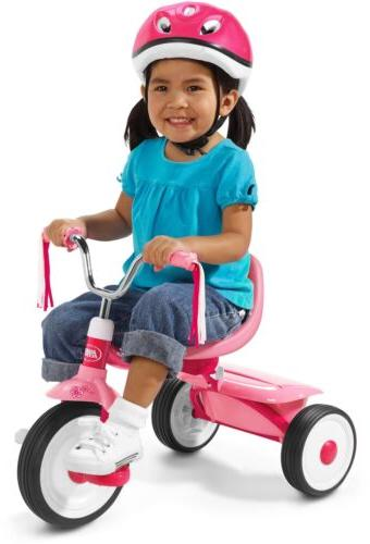 Tricycle Kids Bike Radio Flyer Pink Folding Toddler