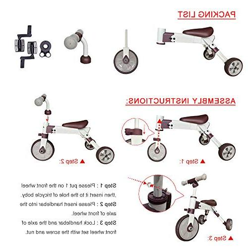 2 Glide Baby Balance for Years and Up Girls Gift Kids Trike Kids Old Toddler Kids Balance Bike