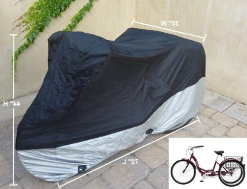 "Formosa Covers Cover fits and - Protect Your Bike Dust, Debris, and when or Inside - Black ss400 75"" x W H"