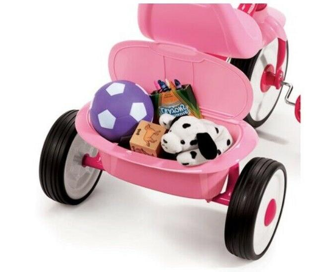 Tricycle Bike Toddler Ride Pink