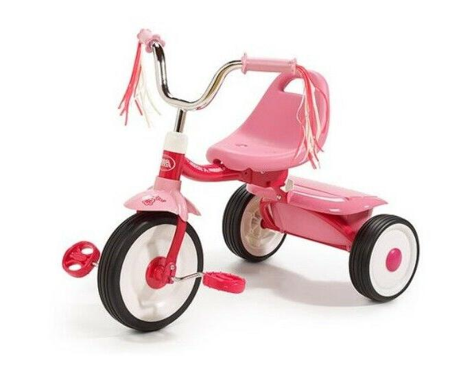 tricycle trike bike kid toddler folding wheel