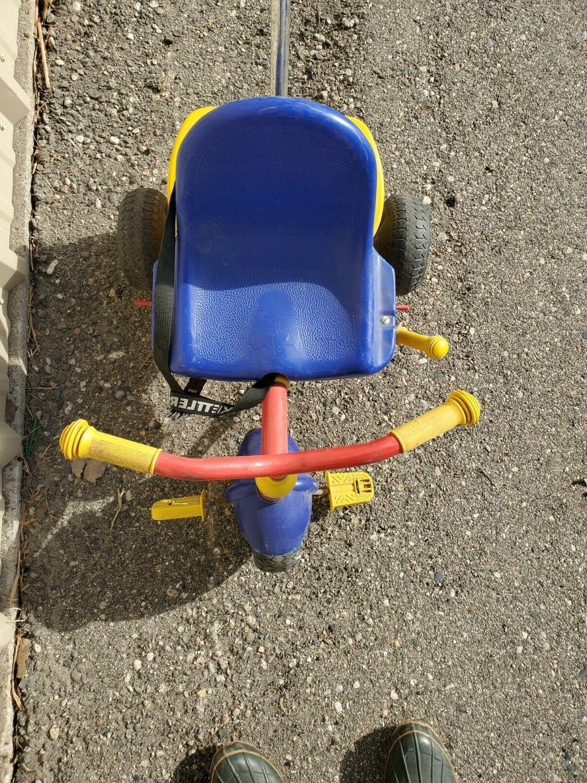 Kettler Trike Push Toddler Basket Germany