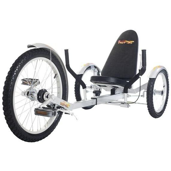 TriTon 3 WHEEL Tricycle Red