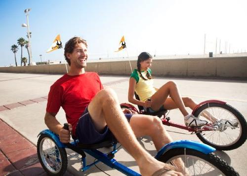Mobo Triton Pro Recumbent Bicycle. Adaptive Teens to