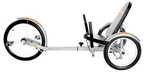 Mobo Triton Pro Recumbent Tricycle Men & Women. 3-Wheeled Bike. Cruiser Lowrider