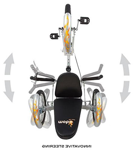 Mobo Triton Pro Tricycle for Men & Women. 3-Wheeled Lowrider Trike