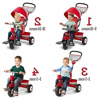 Radio Flyer Ultimate Stroll Red
