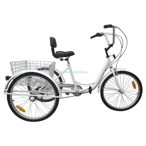 Unisex Adult 3-Wheel 6-Speed Tricycle