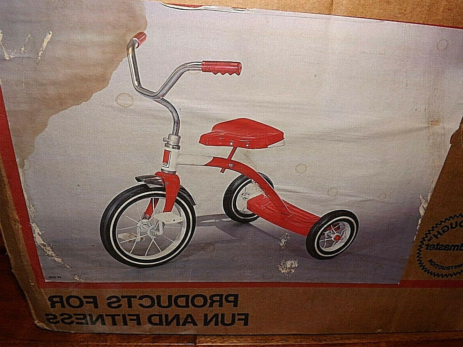 Vintage Roadmaster Junior Metal Tricycle / *NEW OPENED BOX!