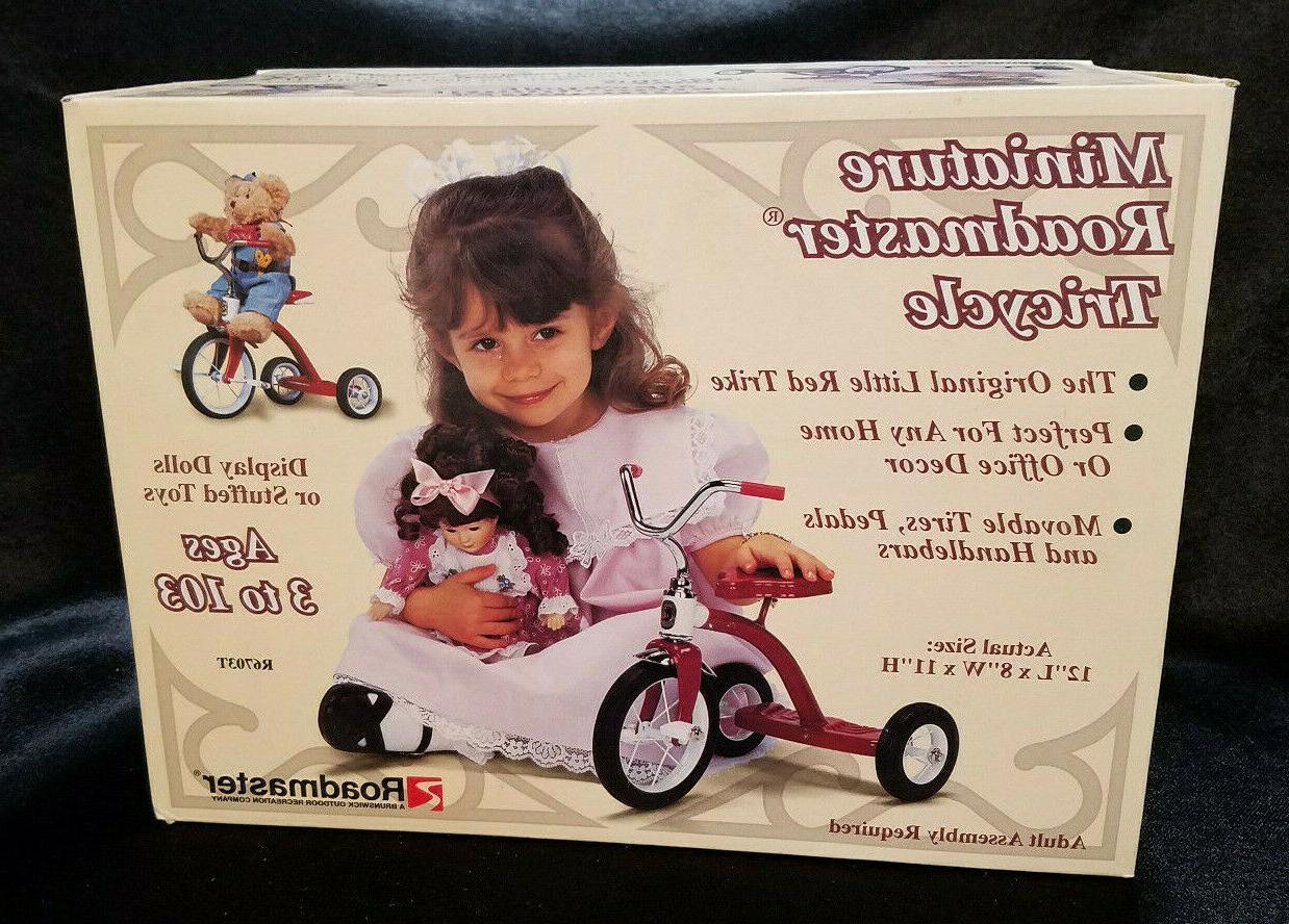 vintage miniature tricycle nib never opened circa
