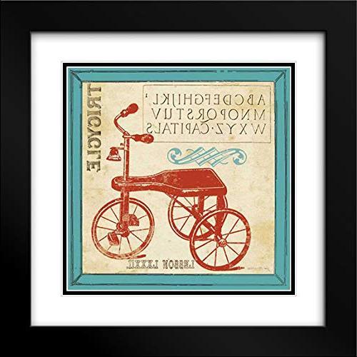 vintage tricycle black modern frame