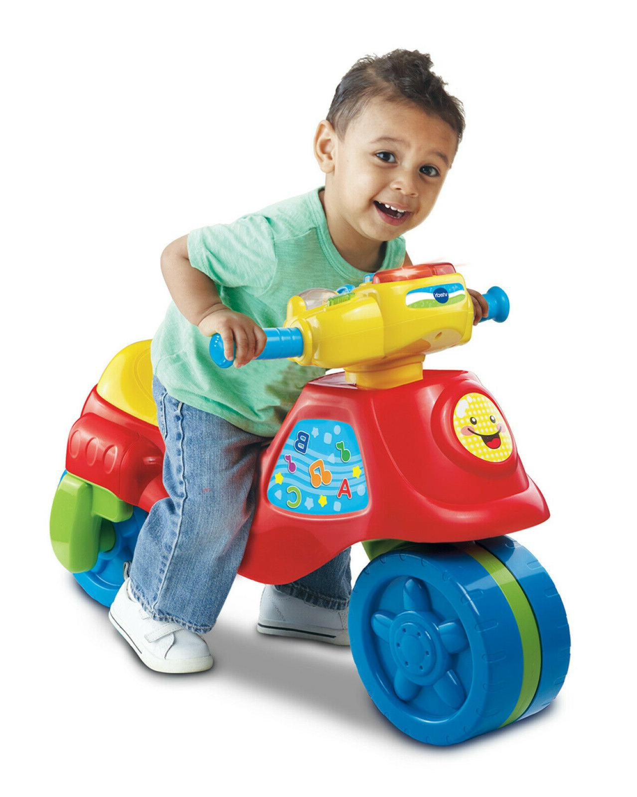 VTech 2 1 Learn And Zoom Riding Toy Year Old Kid Tricycle Toy