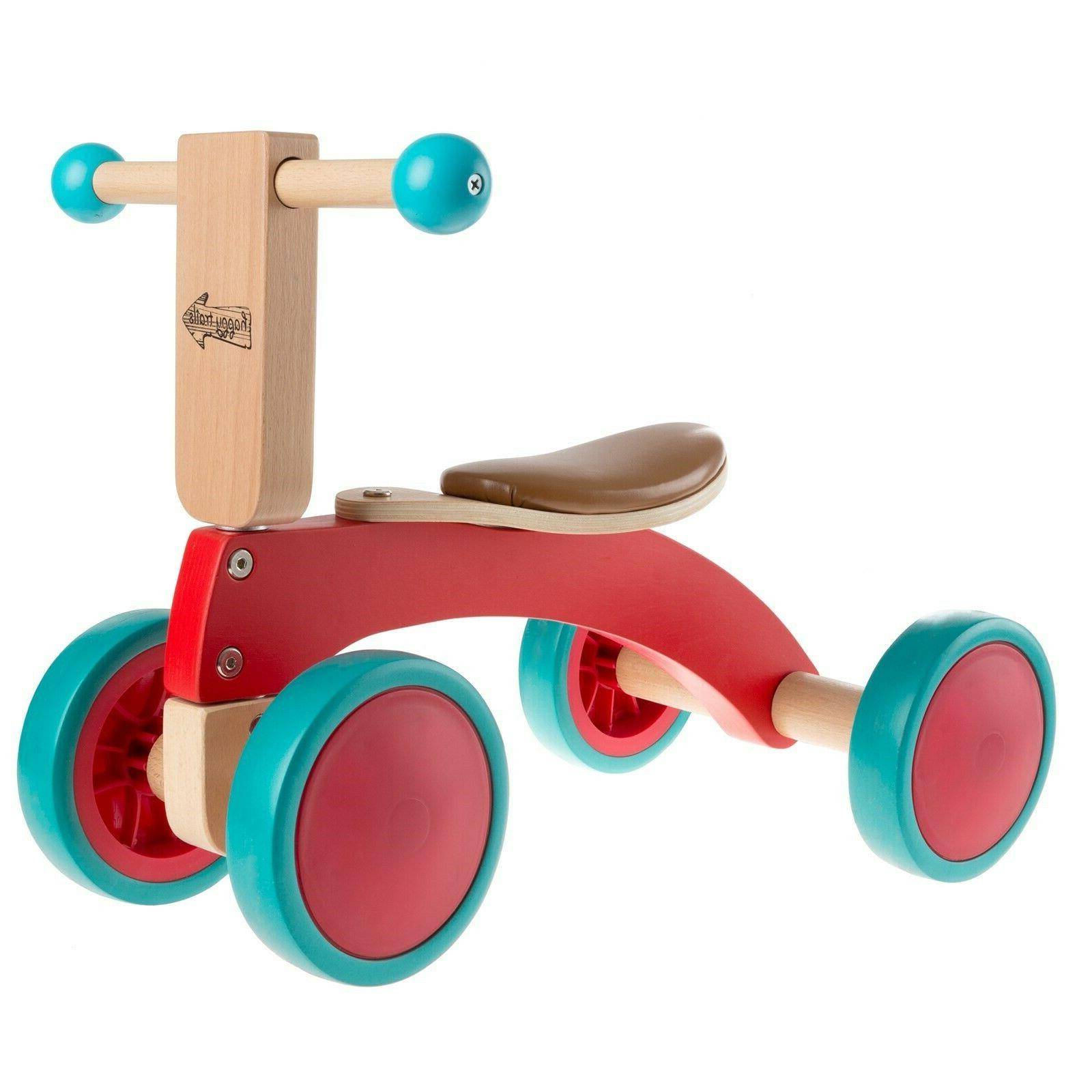 Walk Ride Wooden 4 Tricycle Seat 2 Yrs Old
