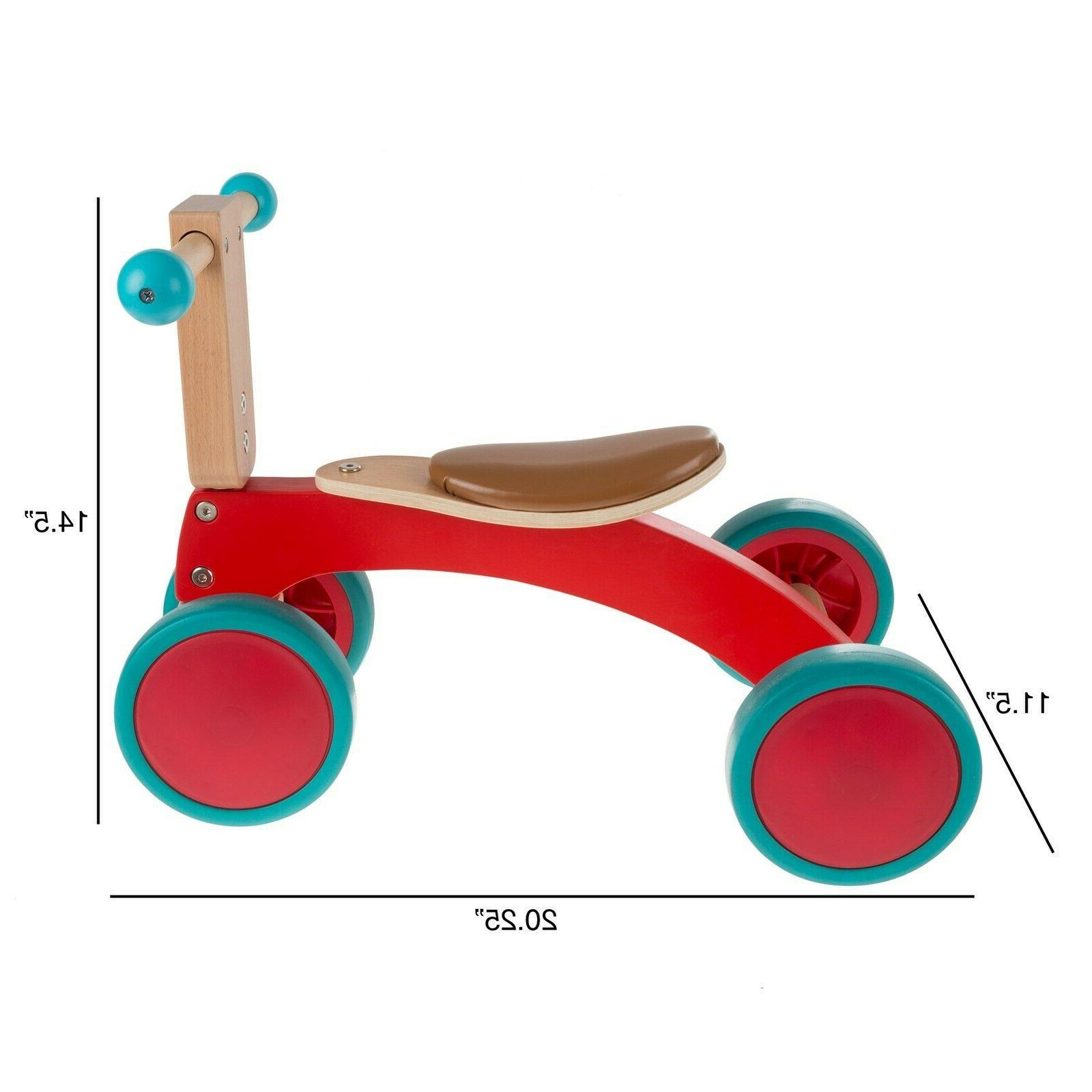 Walk Ride 4 Wheel Tricycle with 2 Yrs