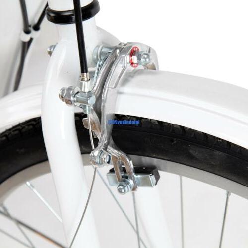 White 3-Wheel Adult Bike Bicycle Cruise W/