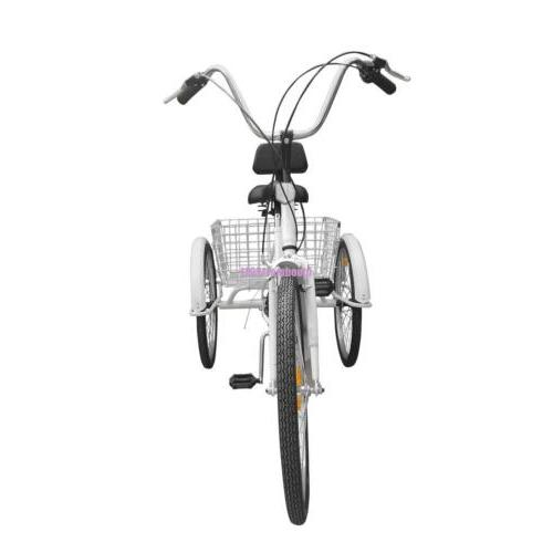 "Adult 3-Wheel 24"" w/ Bicycle Bike"