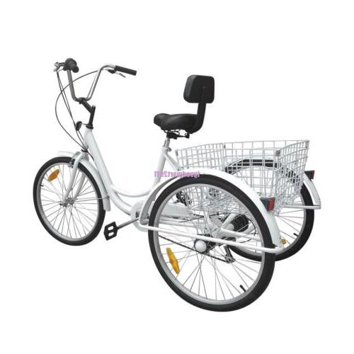"""Adult 7-Speed 24"""" Bicycle"""