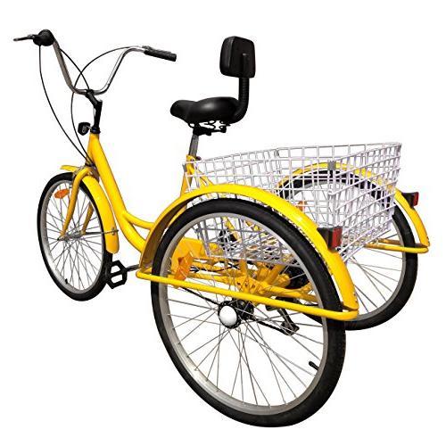 """Iglobalbuy 24"""" 3 Wheel"""