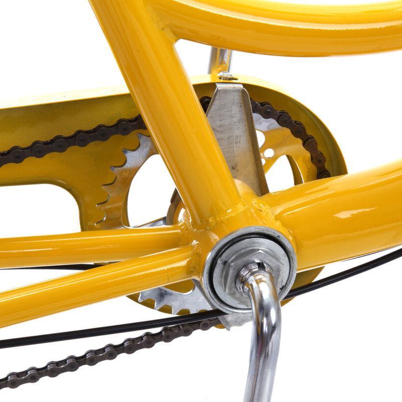 Yellow 6-Speed Wheel Cruise