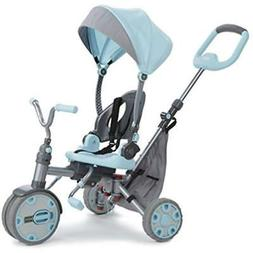 Little Kids Tricycles Tikes Fold 'N Go 5-in-1 Trike Sky Blue