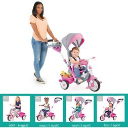 Little Tikes Perfect Fit 4-in-1 Trike, Kids Ride on Toy Tric