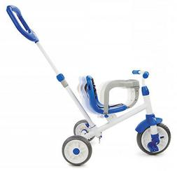 Little Tikes Ride N Learn 3In1 Trike Blue Adjustable Seat Wi