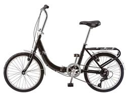 Schwinn Loop Adult Folding Bicycle, 20-Inch Wheels, 7-Speed,