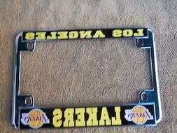 LOS ANGELES LAKERS  MOTORCYCLE LICENSE FRAME