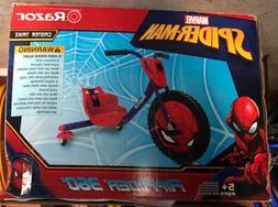 Marvel Spiderman Riprider 360 Razor Trike