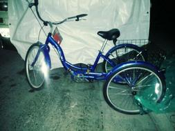 Schwinn Meridian Adult Tricycle - BLUE~ BEEN IN STORAGE FOR