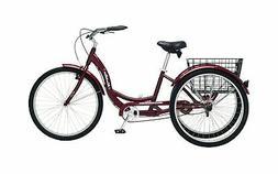 Schwinn Meridian Full Size Adult Tricycle 26 wheel size Bike