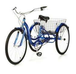 """26"""" Schwinn Meridian Tricycle, Blue"""