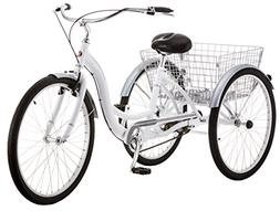 "Schwinn Meridian Wheel Trike Bicycle, White, 14""/One Size"