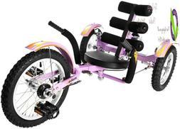 Mobo Mobito Kids 3-Wheel Bike. Recumbent Trike. Childs Cruis