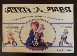 model 553 doll tricycle nib never opened