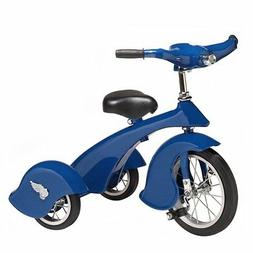 Morgan Cycle Jay Steel Retro Style Tricycle, Blue
