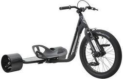 MPSL-71012-Triad Underworld 3 Drift Trike Tricycle, Black/Gr