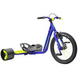 MPSL-71013-Triad Underworld 3 Drift Trike Tricycle, Blue/Neo
