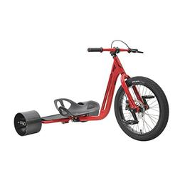 MPSL-71037-Triad Notorious 3 Drift Trike Tricycle, Red/Red