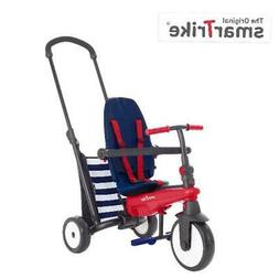 Navy 5-in-1 Toddlers Folding Tricycle 10-36 Months Baby Smar