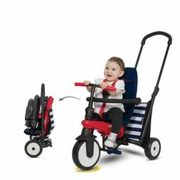 Toddlers Folding Tricycle 10-36 Months Baby Smart Trike Kid