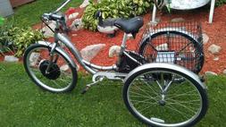 New 1000w 48v 20ah e-Trike Schwinn Meridian Electric Tricycl