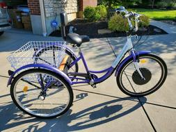new 26 7 speed electric tricycle etrike