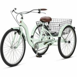NEW SCHWINN 26 Meridian Adult Tricycle MINT 3-Wheel Bike Tri