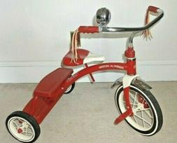 New Radio Flyer Classic Red Dual Deck Tricycle  Bike Model #