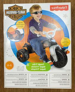NEW Fisher-Price Harley Davidson Motor Cycles Kids Tough Tri