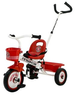 New in Box Schwinn Easy Steer Tricycle, Red/White