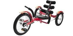 New Mobo Kids RED Mobito Tricycle 3 Wheel Child Cruiser Bike