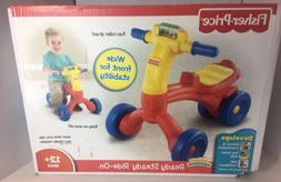 NEW Ready Steady Ride-On ~ Fisher Price Bright Beginnings Pu